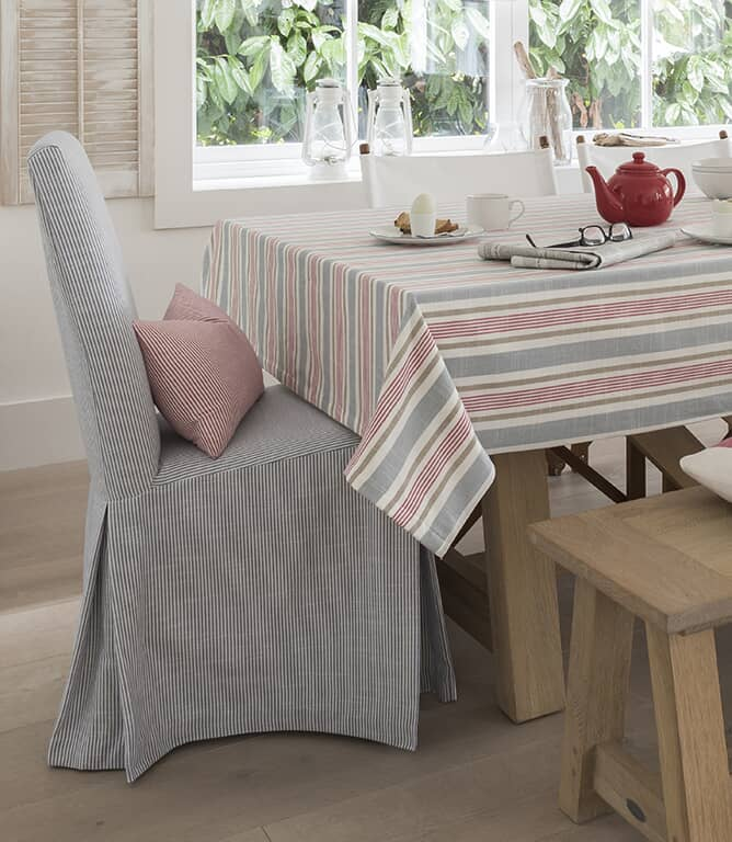 Southwold Stripe Fabric / Denim