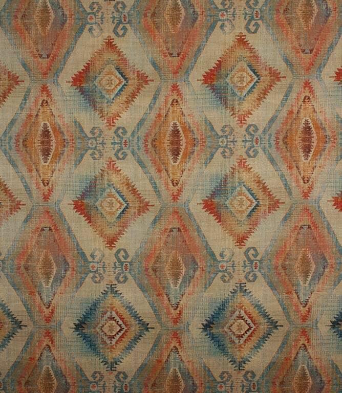 Teal Santa Cruz Fabric