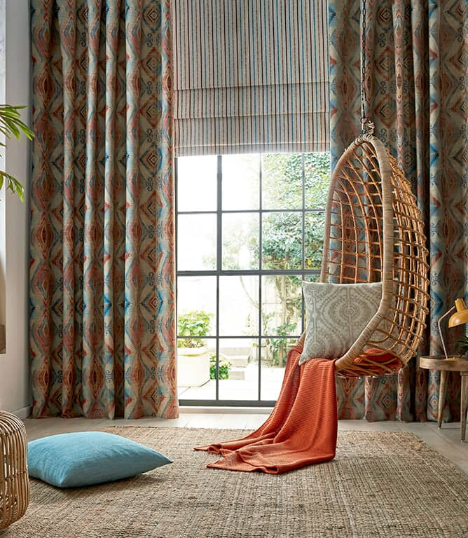 Santa Cruz Fabric / Teal