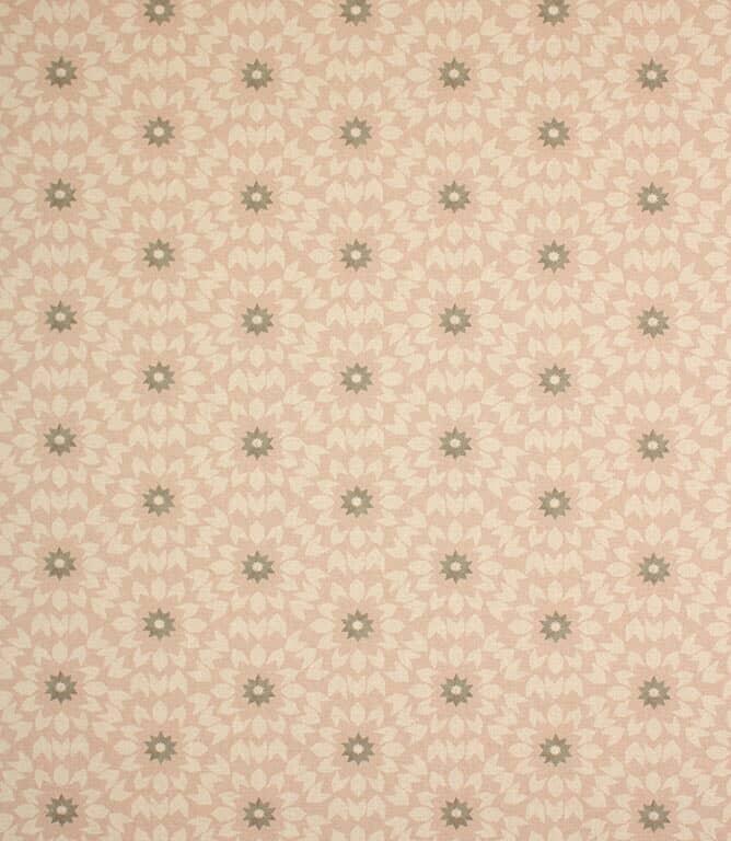 Soft Pink Juniper Fabric