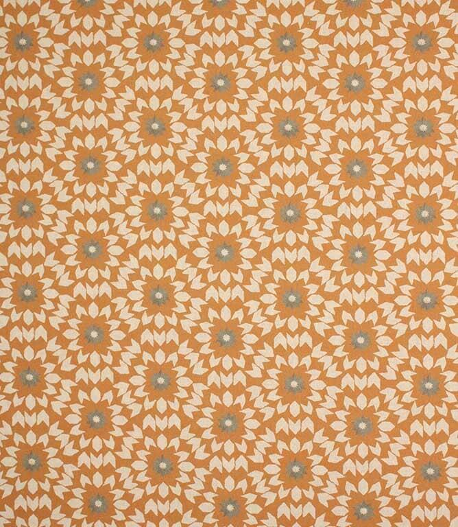 Burnt Orange Juniper Fabric