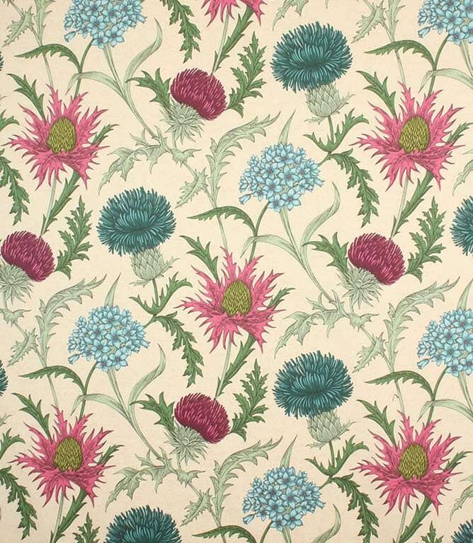 Acanthium Fabric / Carmine