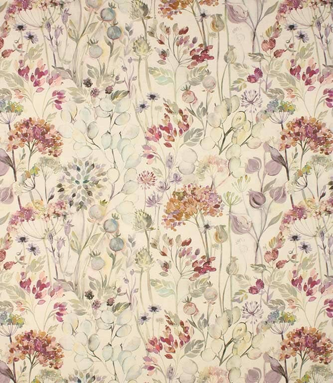 Bloom linen Country Hedgerow Fabric