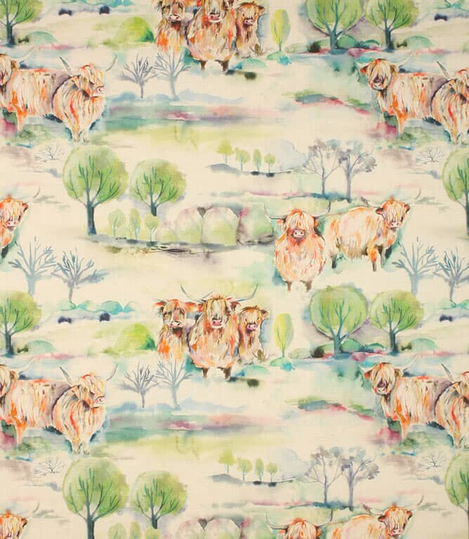 Sage Heilan Herd Fabric