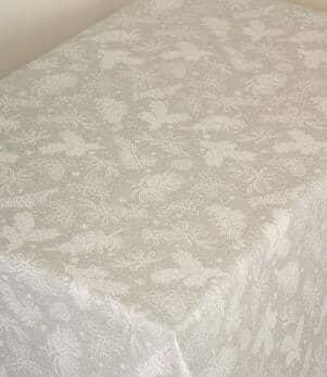 Glam Holly Spruce Acrylic Fabric