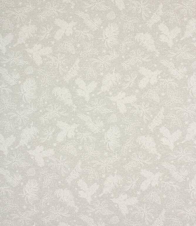 Glam Holly Spruce Acrylic Fabric / Grey
