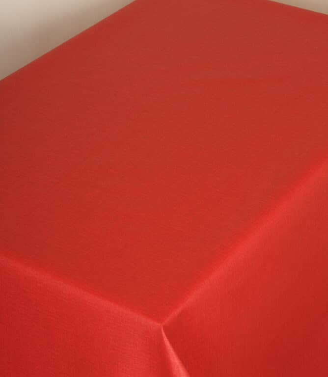 Red Weave Acrylic Fabric / Red