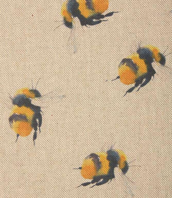 Bee hive Fabric / Yellow
