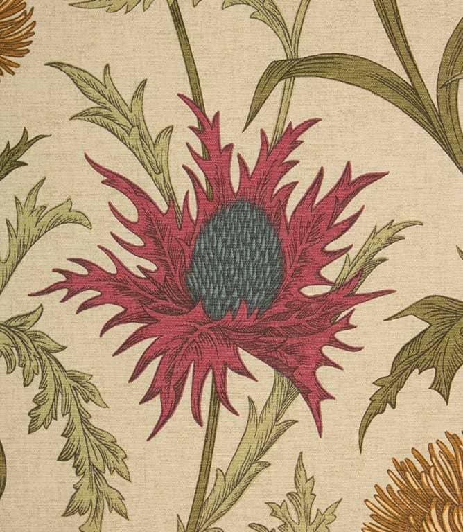 Acanthium Fabric / Garnet