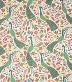 Peafowl Fabric / Teal
