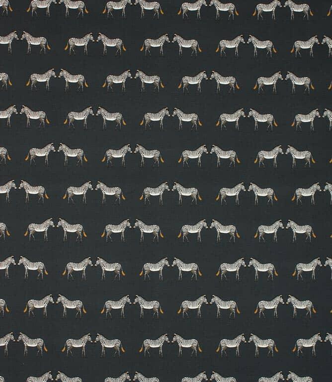 Sophie Allport Zebra Fabric / Navy