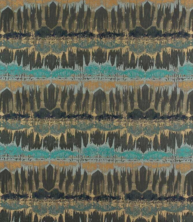 Inca  Fabric / Teal