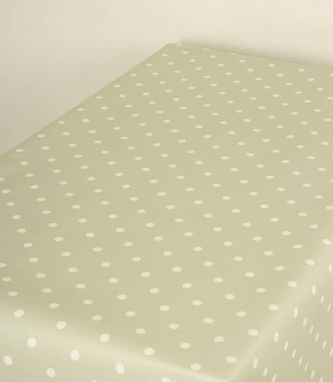 Full Stop Matt PVC Fabric / Willow