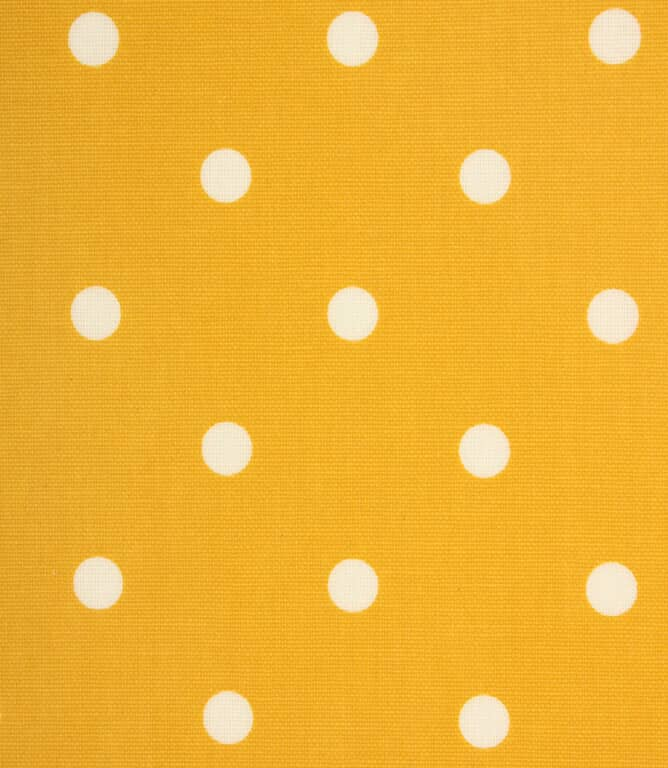 Full Stop Matt PVC Fabric / Mustard