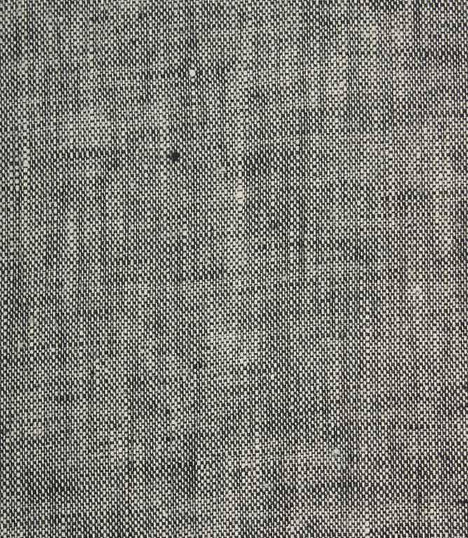 Oaksey Linen Fabric / Charcoal