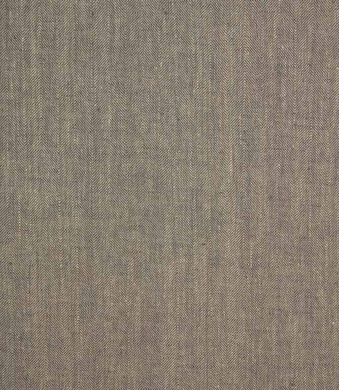 Crudwell Linen Fabric / Slate