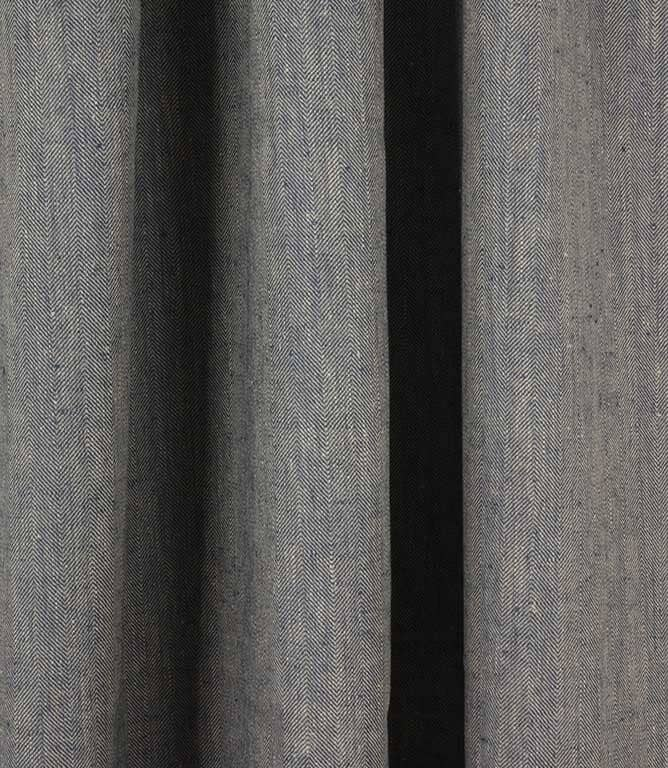 Crudwell Linen Fabric / Blue