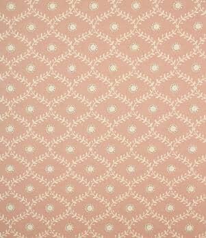 Daisy Trellis Fabric