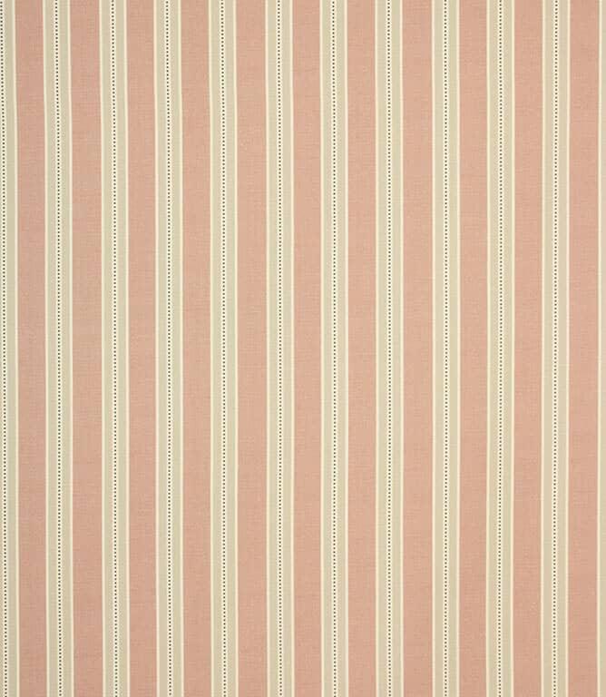 Blush Daisy Stripe Fabric
