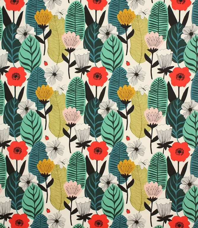 Poppy Blooma Fabric