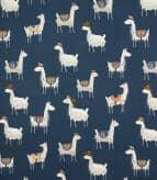 Alpaca / Indigo Fabric