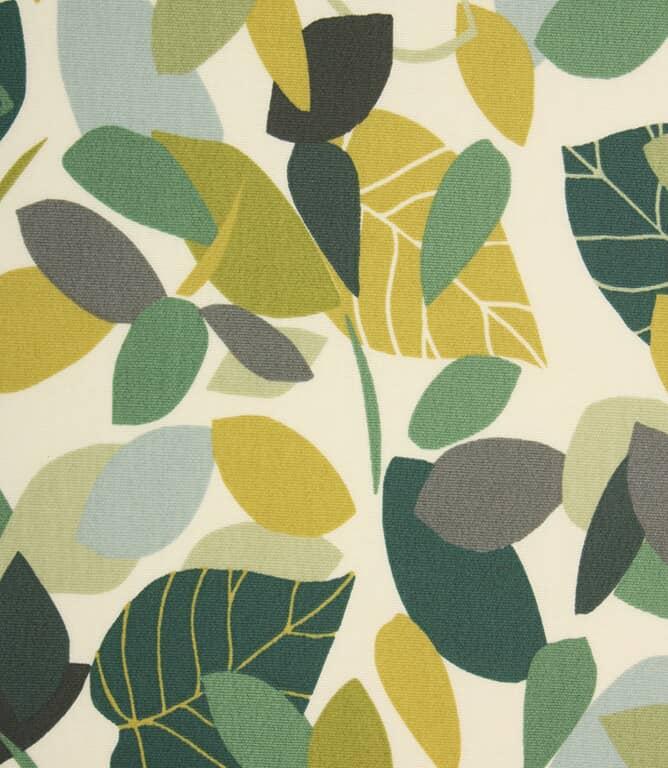 Botaniska Matt PVC  Fabric / Spruce