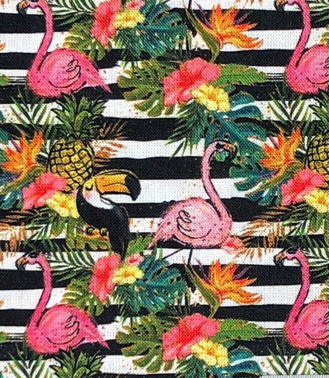 Tropical Toucans Fabric / Multi