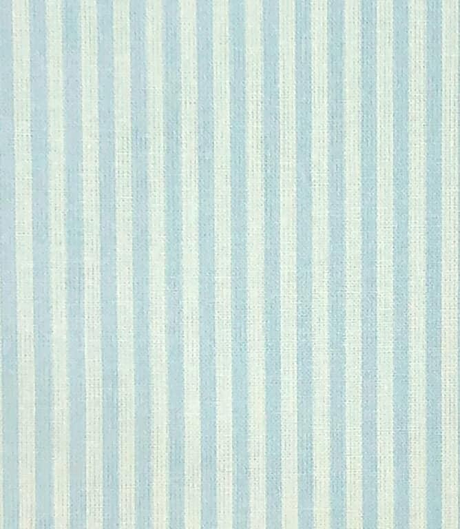 Candy Stripe Fabric / Light Blue
