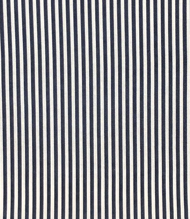 Candy Stripe Fabric / Navy