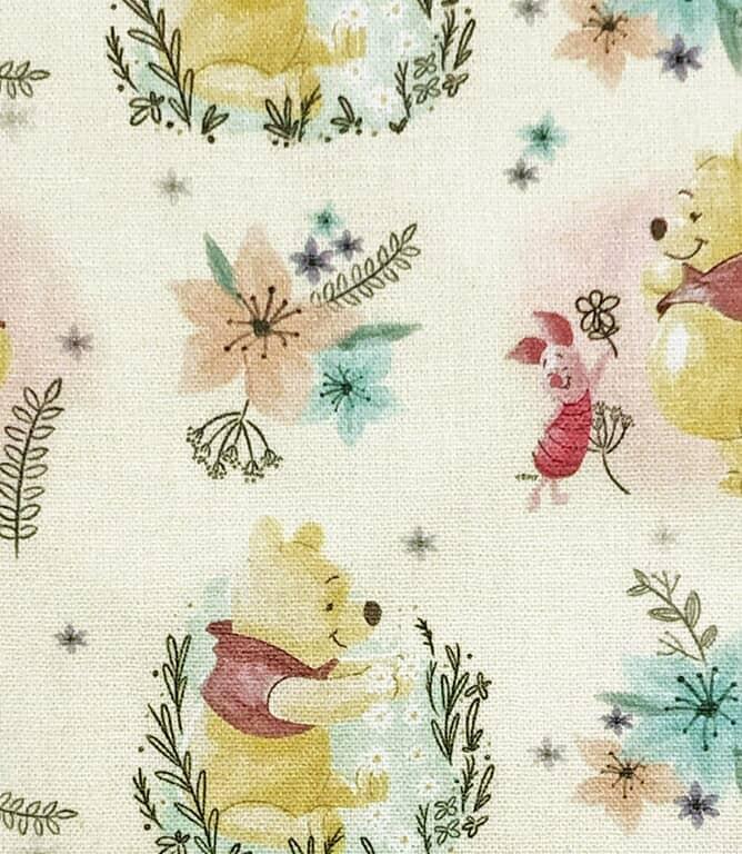 Winnie The Pooh Fabric / Multi