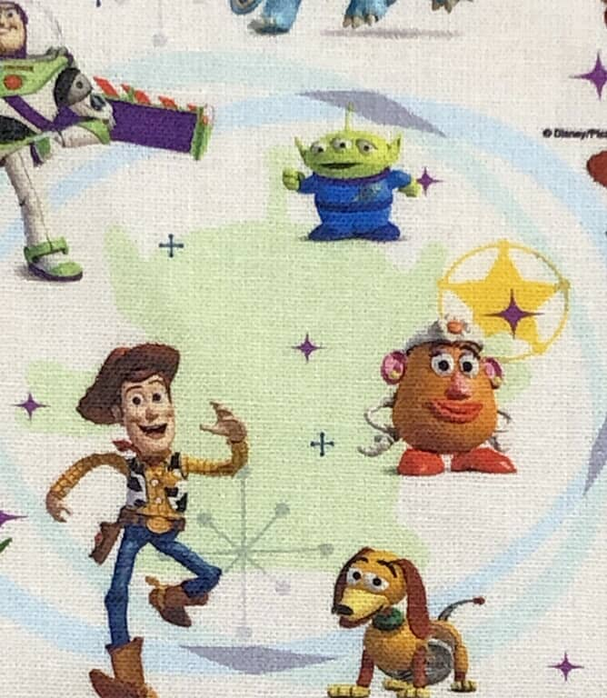 Toy Story Fabric / Multi