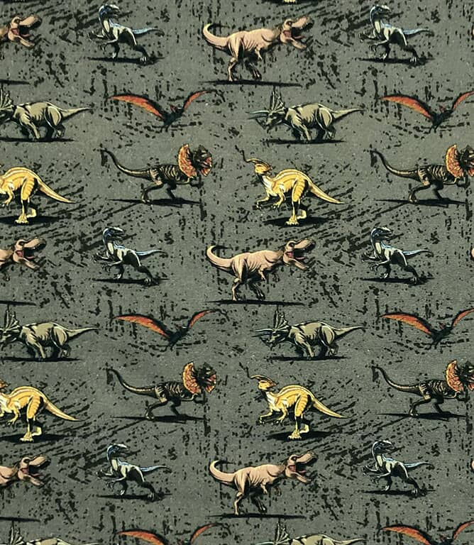 Jurassic Park  Fabric / Grey