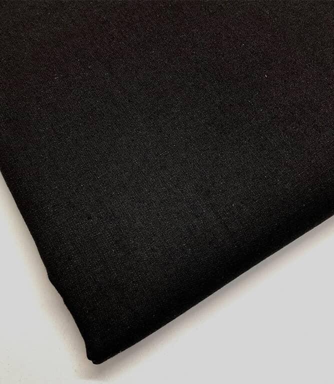 Craft Plain Fabric / Black