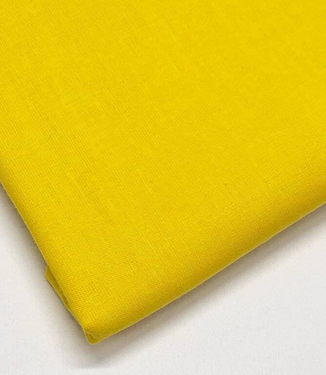 Craft Plain Fabric / Sunshine Yellow