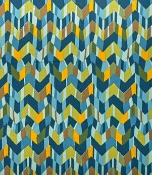 Zig Zag Outdoor Fabric