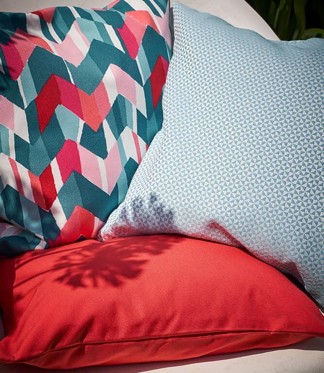Salcombe Outdoor Fabric / Rust