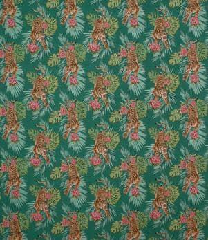Crouching Tiger Fabric
