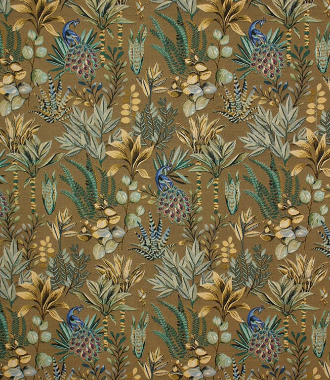 Gold Amazonia Fabric