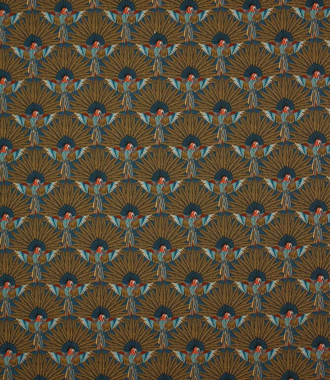 Parrot Paradise  Fabric / Peacock