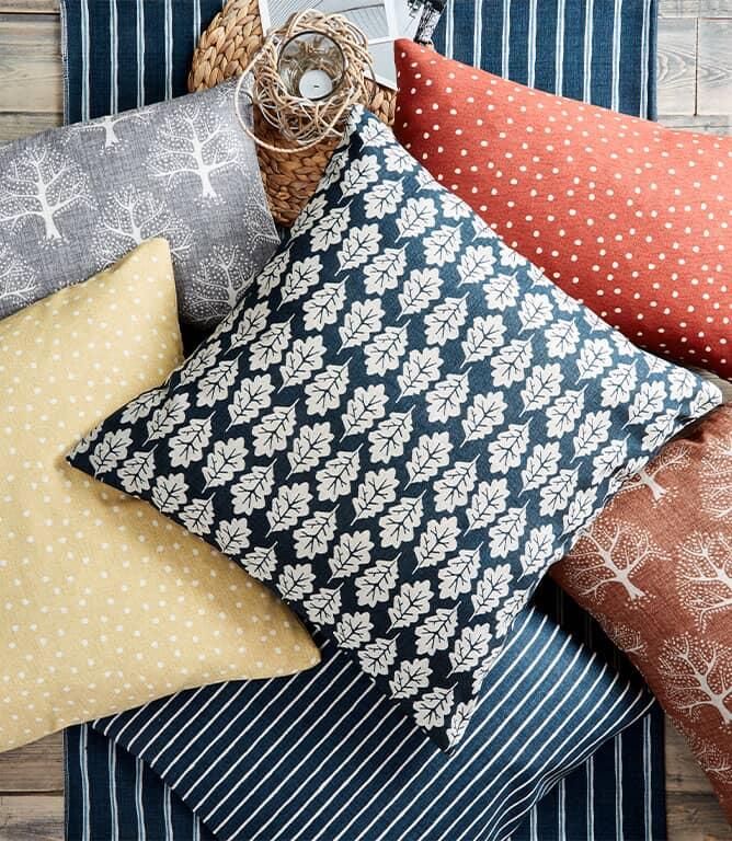 iLiv Spotty Fabric / Pewter