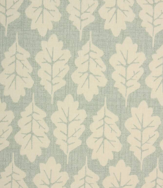 iLiv Oak Leaf Fabric / Duck Egg