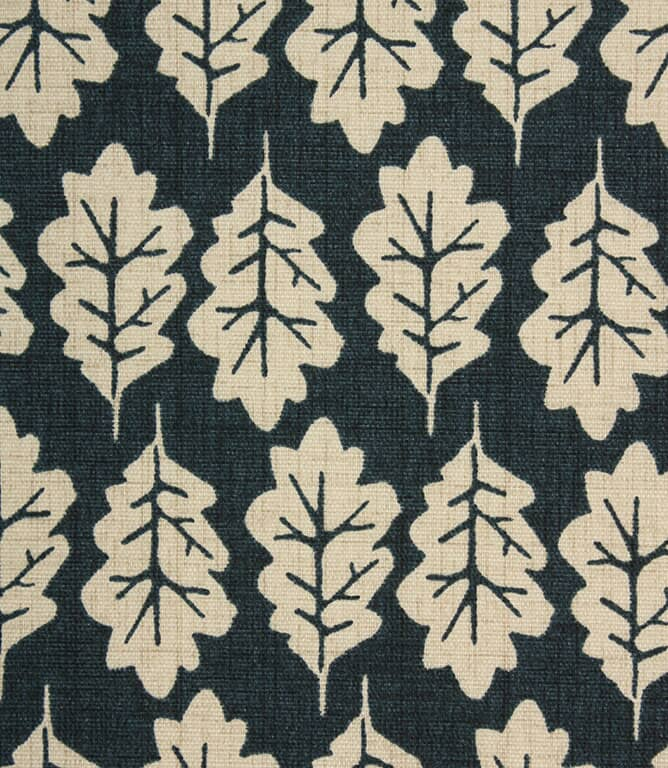 iLiv Oak Leaf Fabric / Midnight