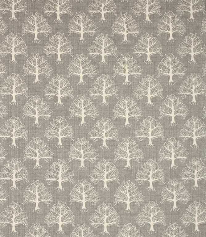 Pewter Great Oak Fabric