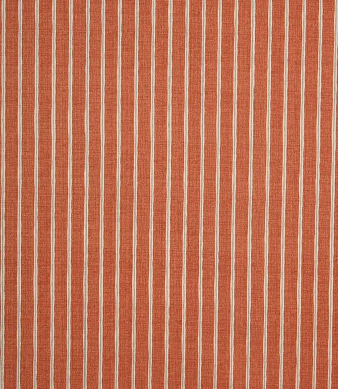 iLiv Rowing Stripe Fabric / Paprika