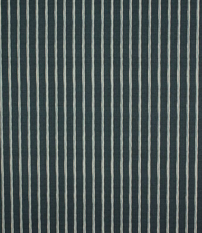 Midnight Rowing Stripe Fabric