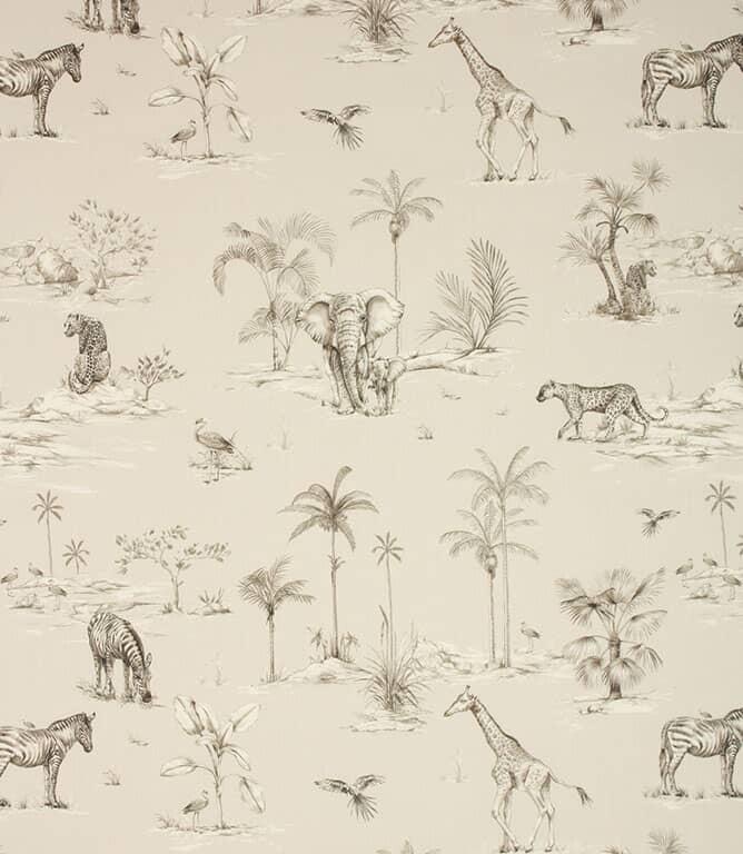 Safari Fabric / African Grey