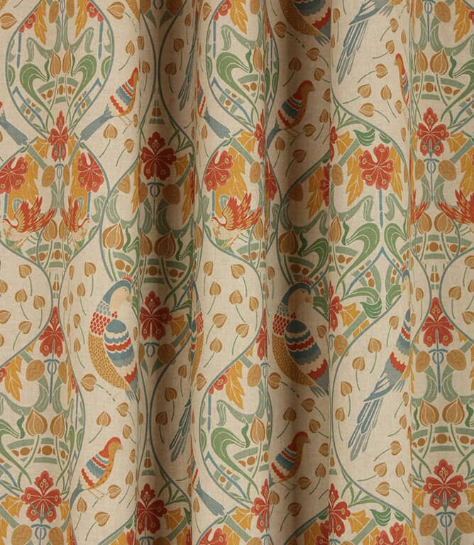 Elizabethan Fabric / Red and Gold
