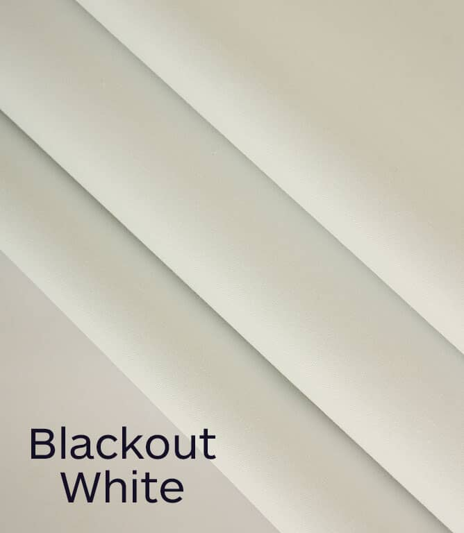 Blackout Lining Deluxe Fabric / White