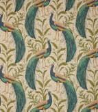 Mr Peacock  Fabric / Linen