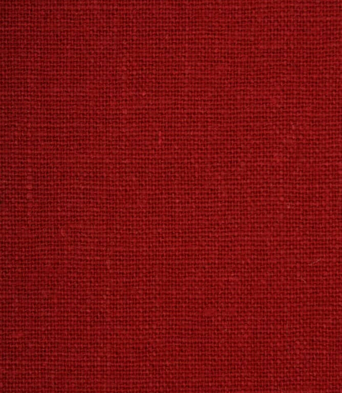 JF Recycled Linen Fabric / Ruby